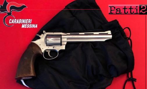 MESSINA – Sotterrata nel giardino, nascondeva pistola rubata. Arrestato 46enne