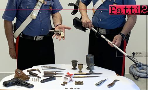 CARONIA – Revolver illegale e hashish. Arrestato 38enne