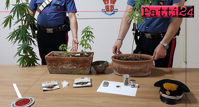 BARCELLONA P.G. – Detenevano droga in abitazione e rubavano energia elettrica. Arrestata giovane coppia