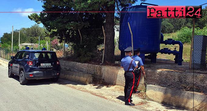 CARONIA – Si allacciano abusivamente alla condotta idrica comunale. Denunciati 4 allevatori