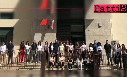 """PATTI – 31, di cui 10 con lode, i centisti al Liceo """"Vittorio Emanuele III"""""""