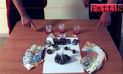 MESSINA – Detenevano in casa cocaina e marijuana a fini di spaccio. 4 arresti