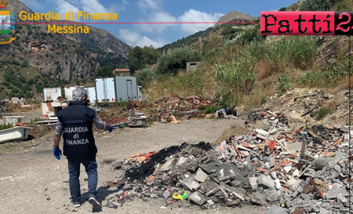 MESSINA – Sequestrate 2 discariche abusive con materiali altamente tossici nei territori di Letojanni e Pagliara.