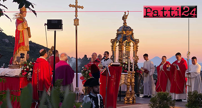PATTI – Anche in emergenza covid-19 Patti ha avuto modo di esprimere la propria devozione a Santa Febronia
