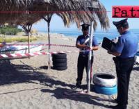 GIOIOSA MAREA – Occupazione abusiva di suolo demaniale marittimo tra Patti e Gioiosa Marea. Otto denunce