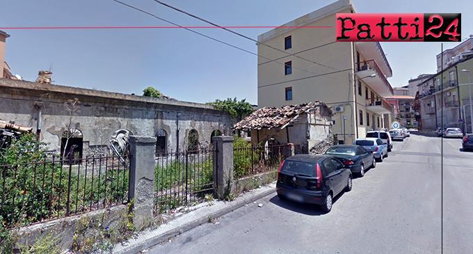 PATTI – Ex macello comunale … tutto è rimasto così com'era.