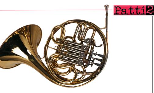 """PATTI – """"Masterclass estiva di corno"""". Evento musicale, unico nel suo genere."""
