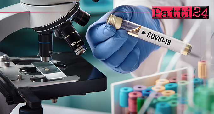 """PATTI – Covid-19, nuovo caso di contagio. Non abbassare la guardia """"perché il covid c'è""""."""