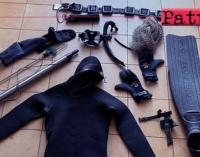 MILAZZO – Sanzioni, denunce e sequestro  attrezzatura da sub e pesce illecitamente catturato.