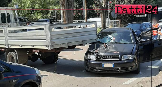 GIOIOSA MAREA – Incidente stradale sulla SS113, in località Saliceto.