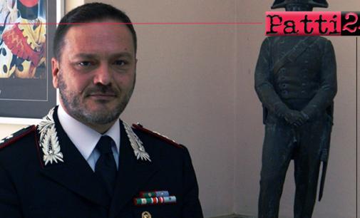 PATTI –  Il Tenente Colonnello Salvatore Pascariello nuovo comandante della Compagnia Carabinieri.
