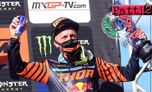 """MXGP – Terzo posto per Tony Cairoli nel primo dei tre appuntamenti sul circuito """"Monte Coralli"""" di Faenza"""