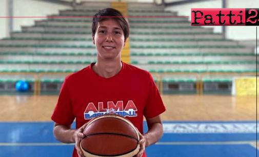 PATTI – Alma Basket. Virginia Galbiati non nasconde il proprio ottimismo per la stagione che scatterà il 4 ottobre