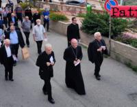 PATTI – Nella Basilica Santuario di Tindari, Mons. Giuseppe Leanza ha celebrato il 30° anniversario di ordinazione episcopale.