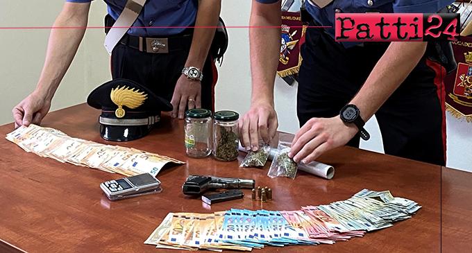 MESSINA – Droga, soldi e armi: arrestati due coniugi incensurati.