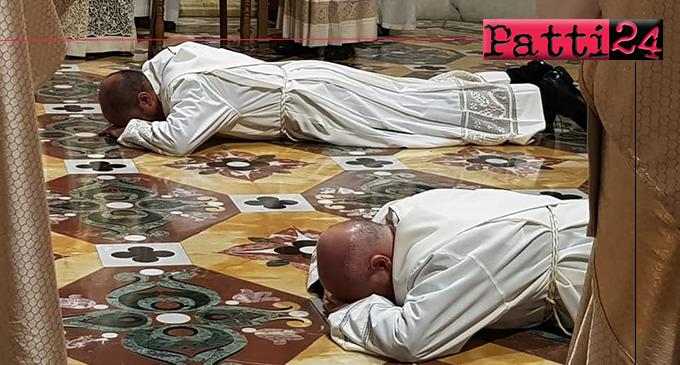 PATTI – Nella Basilica Santuario di Tindari ordinati sacerdoti don Cono Gorgone e don Carmelo Paparone