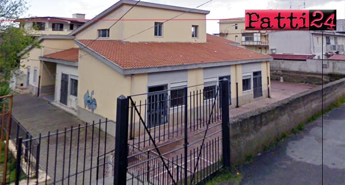 """PATTI – Adeguamento sismico, manutenzione straordinaria e riqualificazione edificio che ospita la Scuola Elementare """"Tenente Natoli"""" di Marina di Patti"""