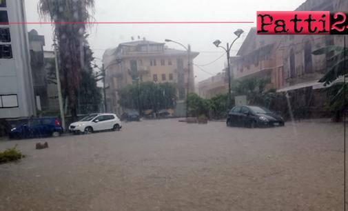 """PATTI – Caro Giove Pluvio … ci siamo ritrovati ancora una volta """"sott'acqua""""."""