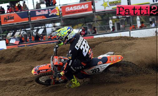 MXGP – Gran Premio del Limburgo. Tony Cairoli terzo sul podio.