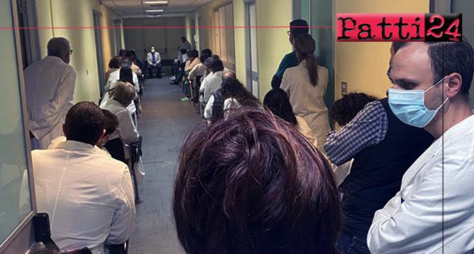 BARCELLONA P.G. – In emergenza Covid-19, La Paglia incontra medici e personale sanitario dell'Ospedale.