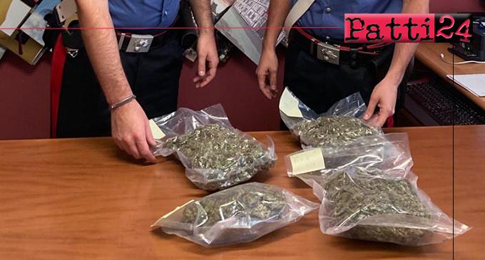 MESSINA – Deteneva in casa quasi 2 kg. di marijuana. Arrestato 29enne