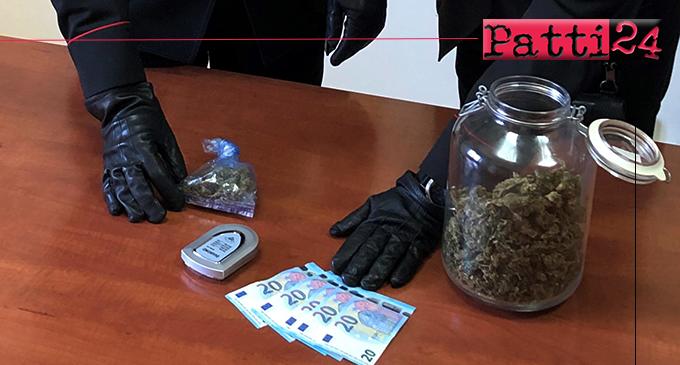 MESSINA – Oltre 250 gr di marijuana in casa. Arrestato 24enne
