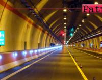 A18 e A20: da domani i lavori di installazione segnaletica per le gallerie