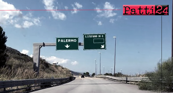 A20 – Messa in Sicurezza. Dal 30 novembre chiusura tratto con uscita obbligatoria a S.Stefano di Camastra e rientro al casello di Tusa.