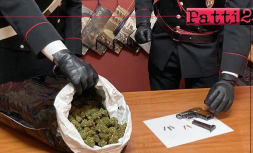 MESSINA – In auto con droga e pistola. Due arresti
