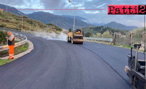 BARCELLONA P.G. – In fase di ultimazione i lavori sulla S.P. 80 bis di San Paolo