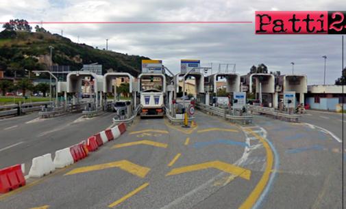 A20 – Temporanea uscita obbligatoria a Rometta per chi transita in direzione Palermo