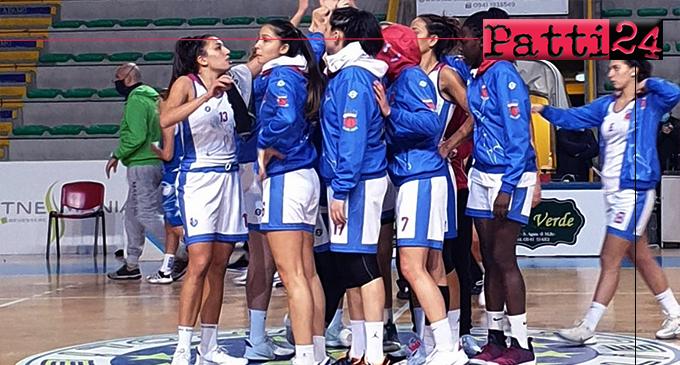 PATTI – A2 basket femminile. Alma Patti -Brixia Brescia 75-81