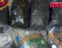 MESSINA – Controlli anti-droga. Sequestrati tre chili di marijuana.