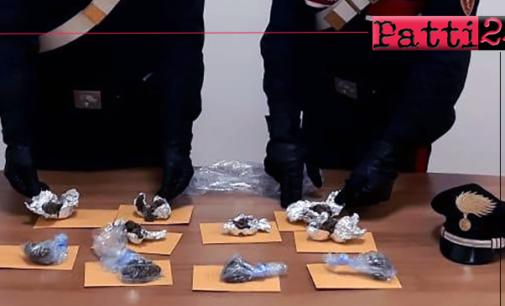 SAN FILIPPO DEL MELA – Sorpreso con oltre 100 grammi di marijuana. Arrestato 35enne