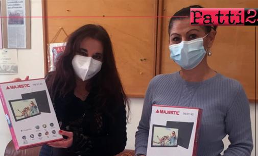 PATTI – Solidarietà e attenzione per la comunità scolastica da dipendenti che rinunciano al regalo natalizio.