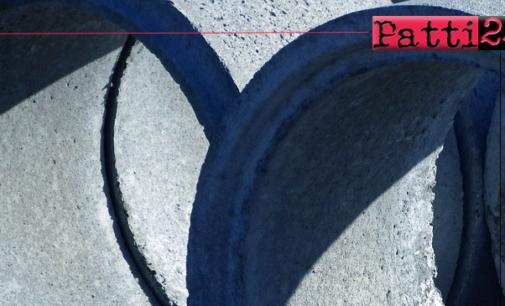 PATTI – Interventi su rete fognaria danneggiata dal maltempo.