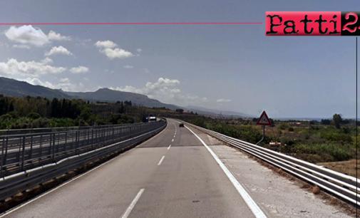 A20 – Interventi su fibra ottica TIM: parzializzazione autostradale nei pressi di Torrenova