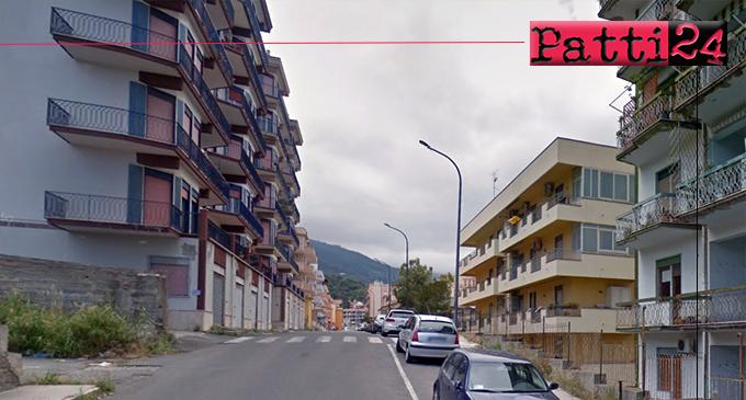 PATTI – Intervento di mitigazione del rischio idrogeologico in via Fontanelle.