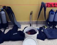 MESSINA – Pesca illegale. Denunciati e sanzionati due sub, il pescato in beneficienza.