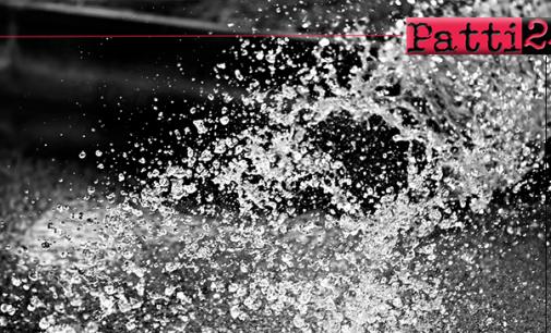 PATTI – Servizio idrico comunale. Intervento alle elettropompe di sollevamento del campo pozzi del Timeto