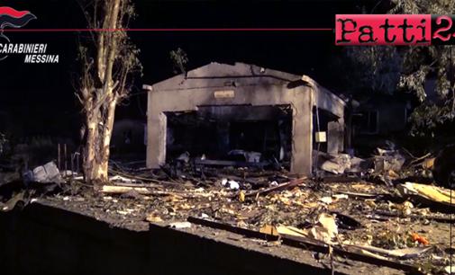 BARCELLONA P.G. – Esplosione fabbrica di fuochi d'artificio. Tre arresti e due aziende sequestrate