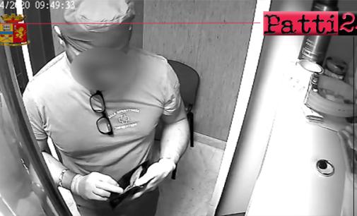 SANT'AGATA MILITELLO – Arrestato infermiere per furto ai danni di un collega di lavoro