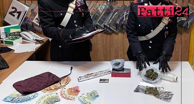 SANT'AGATA DI MILITELLO – Detenzione e spaccio di sostanze stupefacenti. Arrestata coppia di coniugi