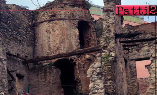"""PATTI – Fornace di Marina di Patti. Italia Nostra Presidio Nebrodi: """"Colpevoli di abbandono"""", nessun intervento di messa in sicurezza o di recupero."""