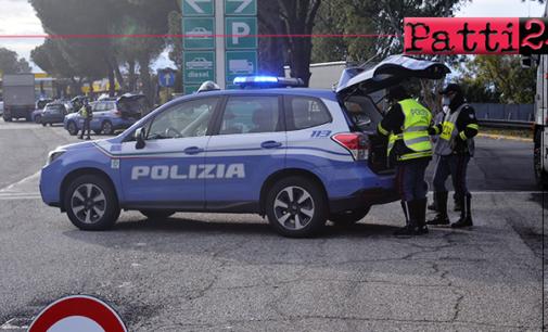 """MESSINA – Operazione """"Truck & bus"""" della Polizia Stradale. 137 mezzi pesanti controllati e 94 sanzioni elevate."""