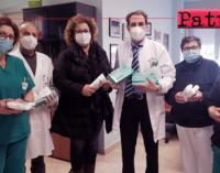 """PATTI – """"Aretè"""" dona dispositivi di protezione individuale alla Cardiologia del """"Barone Romeo"""""""