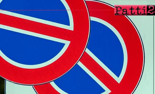 PATTI – Da lunedì 15 divieto di sosta su un tratto della via  XX  Settembre