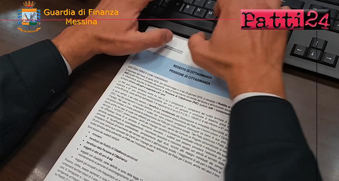 """MESSINA – Scoperti 175 """"furbetti"""" del Reddito di Cittadinanza. Frode di oltre un milione di euro"""