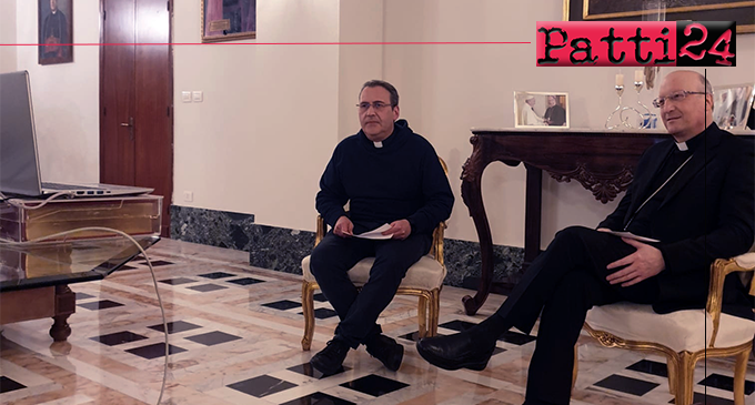PATTI – Giovani della diocesi di Patti. 4° incontro on line con il vescovo Giombanco.