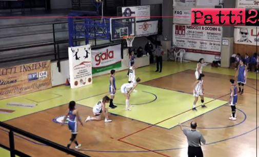 PATTI – A2 di basket femminile. Umbertide – Alma Patti 75-73